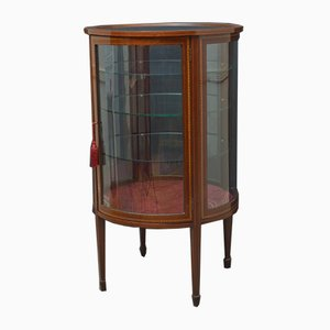Large Antique Edwardian Display Cabinet