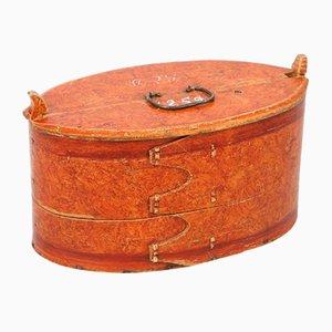 Caja sueca antigua, 1859