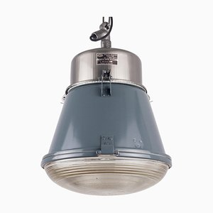 Mid-Century Polish Industrial Pendant Lamp from Mesko, 1970s