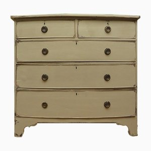 Antique Grey Chest of Drawers