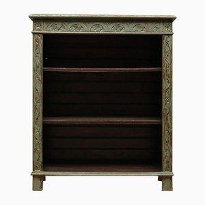 Antique Blue Bookcase