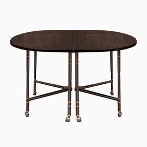 Tavolo ovale Royale di Maison Jansen, anni '60