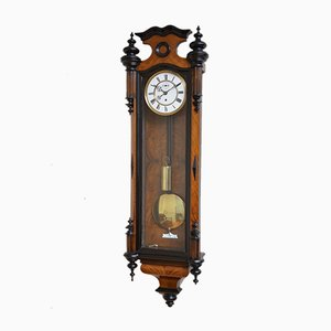 Victorian Vienna Walnut Clock