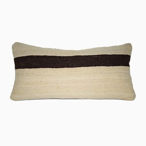Striped Turkish Lumbar Kilim Pillow from Vintage Pillow Store Contemporary