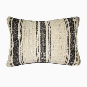 Türkischer Kelim Kissenbezug mit natürlichen Farben von Vintage Pillow Store Contemporary