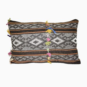 Oblong Turkish Goat Hair Cushion Cover from Vintage Pillow Store Contemporary