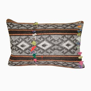 Organic Lumbar Kilim Pillow Cover from Vintage Pillow Store Contemporary