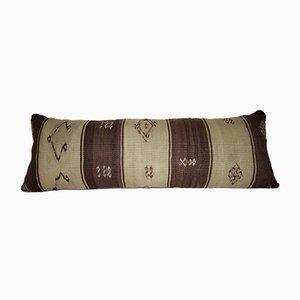 Natürlich gefärbter Bohemien Kelim Kissenbezug von Vintage Pillow Store Contemporary