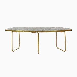 Table Basse Boomerang Vintage par Berthold Müller, 1950s