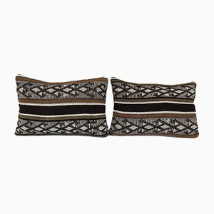 Turkish Wool Lumbar Cushion Covers from Vintage Pillow Store Contemporary, Set of 2