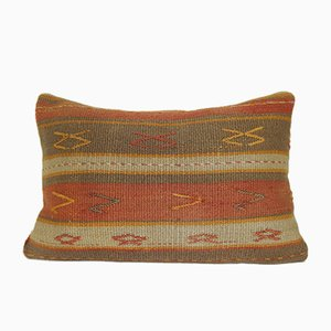 Turkish Outdoor Kilim Pillow Cover from Vintage Pillow Store Contemporary