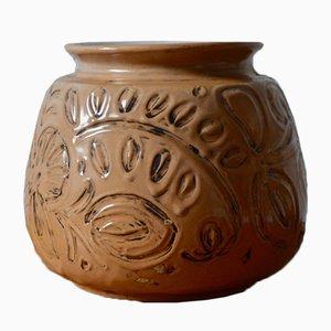 Schweizer Art Déco Keramikvase von Adolf Schweizer für Thoune, 1920er