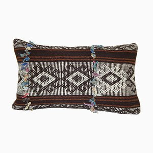 Turkish Hand-Woven Goat Hair and Wool Kilim Pillow Cover from Vintage Pillow Store Contemporary