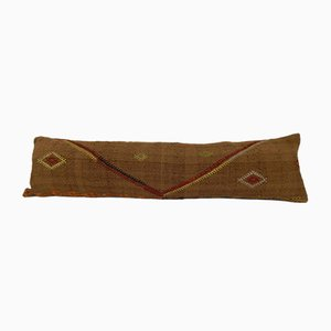 Long Woven Kilim Pillow Cover from Vintage Pillow Store Contemporary