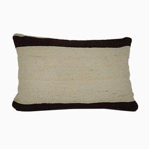 Handgemachter gestreifter türkischer Kelim Kissenbezug von Vintage Pillow Store Contemporary