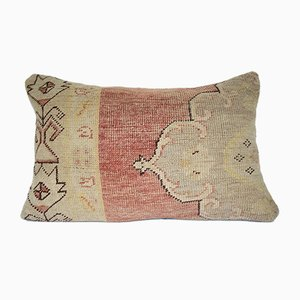 Turkish Kilim Pillow with Medallion Patterns from Vintage Pillow Store Contemporary
