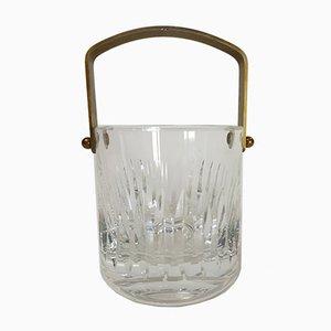 Französischer Eiskübel aus Kristallglas von Saint Louis, 1970er
