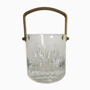 French Crystal Ice Bucket from Saint Louis, 1970s
