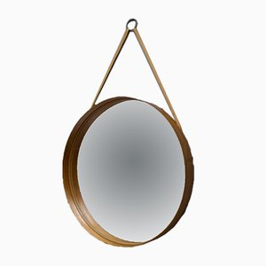 Teak Wall Mirror from Markaryd, 1960s