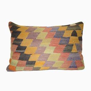 Türkischer Kissenbezug mit geometrischem Muster von Vintage Pillow Store Contemporary