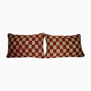 Housses de Coussin Oushak Ushak de Vintage Pillow Store Contemporary, Set de 2