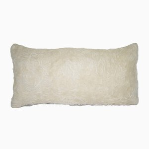 Shaggy Organic Wool Tulu Rug Pillow Cover from Vintage Pillow Store Contemporary