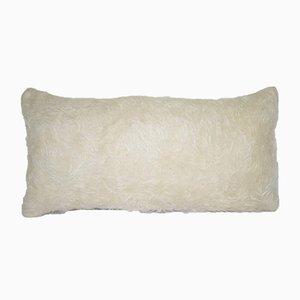 Zotteliger Tulu Wollkissenbezug von Vintage Pillow Store Contemporary
