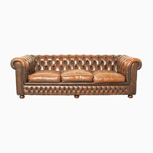 Three-Seater Chesterfield Sofa, 1970s