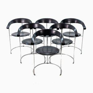Chaises Basket de Arrben, 1960s, Set de 6