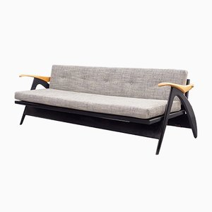 Grey Sofa or Daybed, 1950s