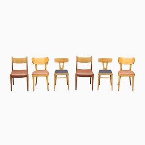 Verschiedene Vintage Stühle, 1960er, 6er Set