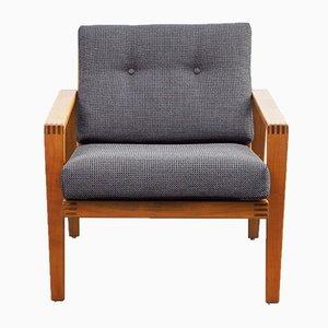 Stuhl aus Massivholz von Knoll, 1960er