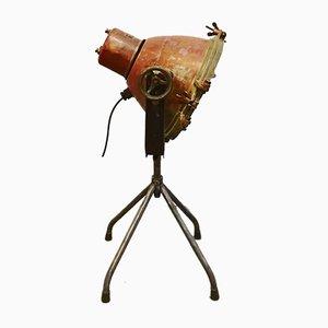 Lámpara de pie industrial vintage de Brandt & Fils