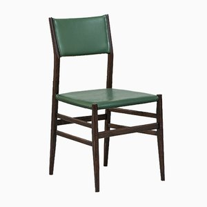 Green Palisander Chairs by Gio Ponti for Cassina, 1950s, Set of 12