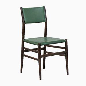 Sedie in palissandro verde di Gio Ponti per Cassina, anni '50, set di 12