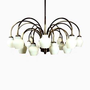 Lámpara de araña de Fog & Mørup, años 40