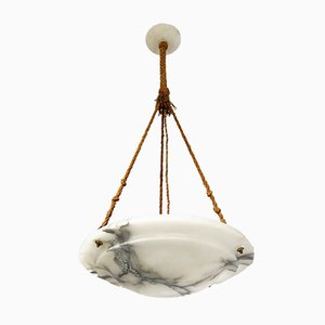 Antique Alabaster Ceiling Lamp