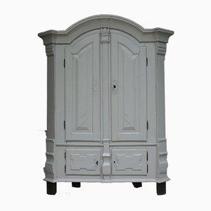 Mobiletto antico barocco grigio