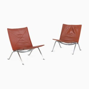 PK22 Stuhl von Poul Kjærholm, 1950er