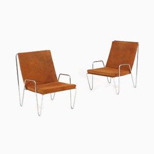 Bachelor Stühle von Verner Panton, 1950er, 2er Set