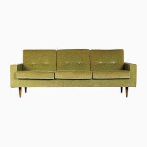 Velvet 3-Seater Sofa by Florence Knoll Bassett, 1950s