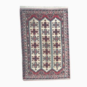 Türkischer gemusterter Vintage Teppich, 1970er