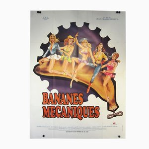 Bananes Mecaniques Movie Poster, 1973