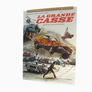 La Grande Casse (Gone In 60 Seconds) Film Poster, 1974