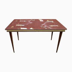 Mid-Century Italian Dining Table by Umberto Mascagni for Mascagni, 1950s