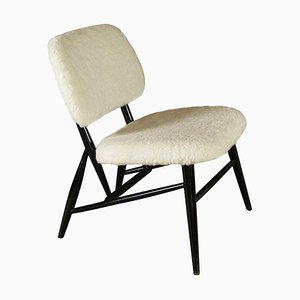 Swedish Mid-Century Fireside Chair by Alf Svensson for Ljungs Industrier, 1950s