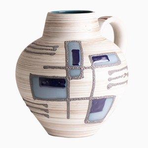 Jarrón alemán abstracto de cerámica de Carstens Tönnieshof, años 70