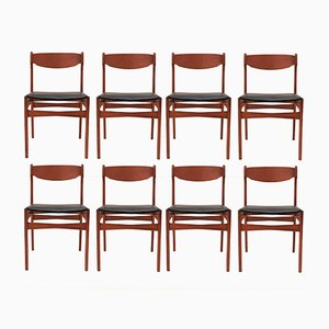 Vintage Teak Dining Chairs from Findahls Møbler A/S, 1960s, Set of 8