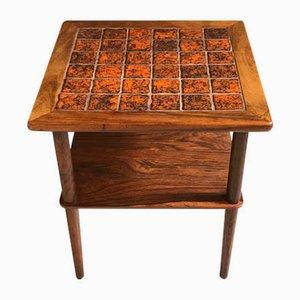 Tavolino in palissandro, anni '60