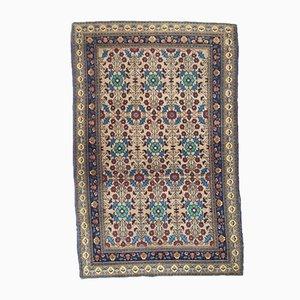 Geknüpfter Teppich aus Samt und Wolle, 1970er